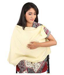 Vixenwrap Baby Yellow Cotton Breast Feeding Wrap