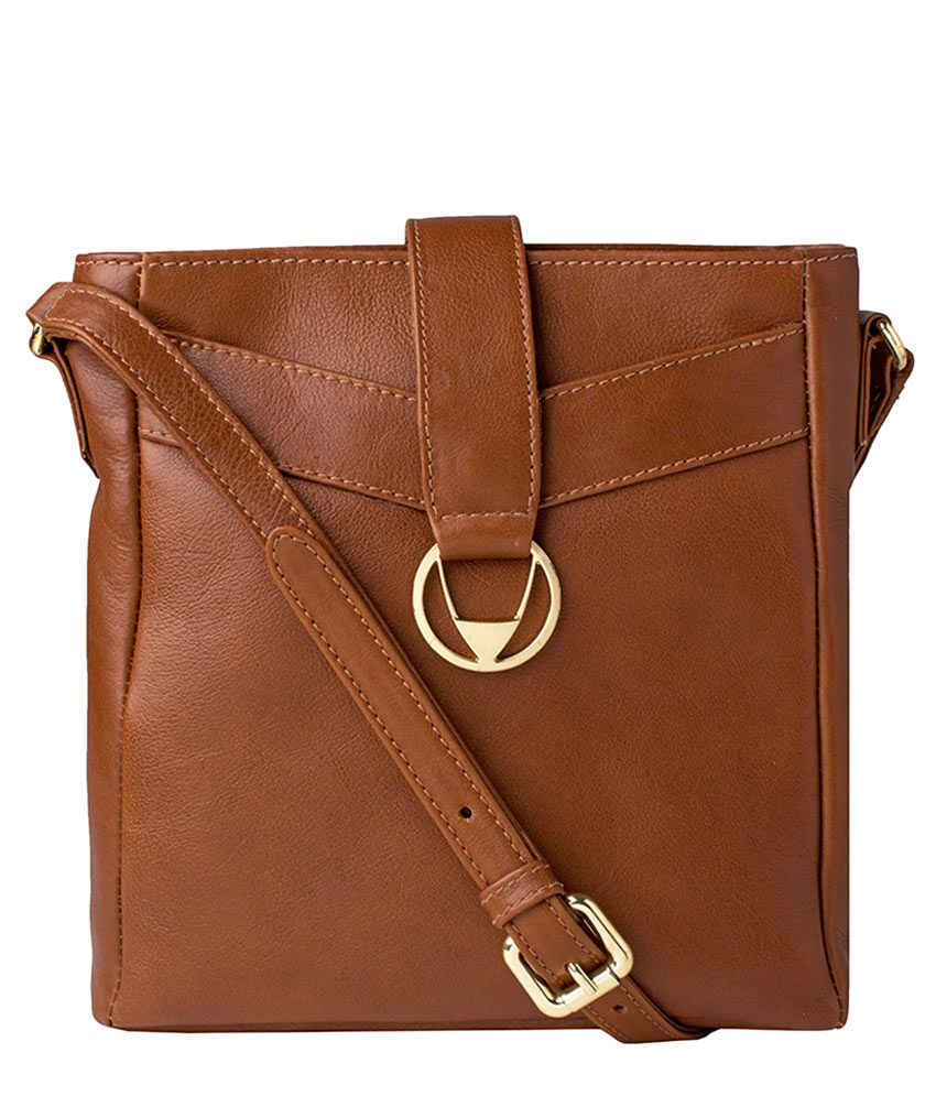 74dc50fe2f Hidesign Azha 03 Tan Leather Sling Bag - Buy Hidesign Azha 03 Tan Leather Sling  Bag Online at Best Prices in India on Snapdeal