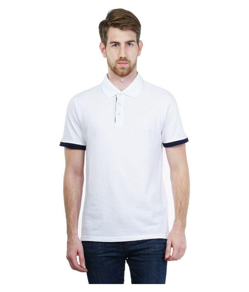 Puma White Polo T Shirts