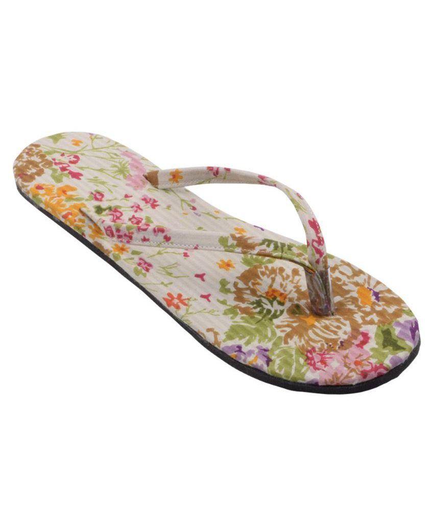 Hve Multicolor Flip Flops