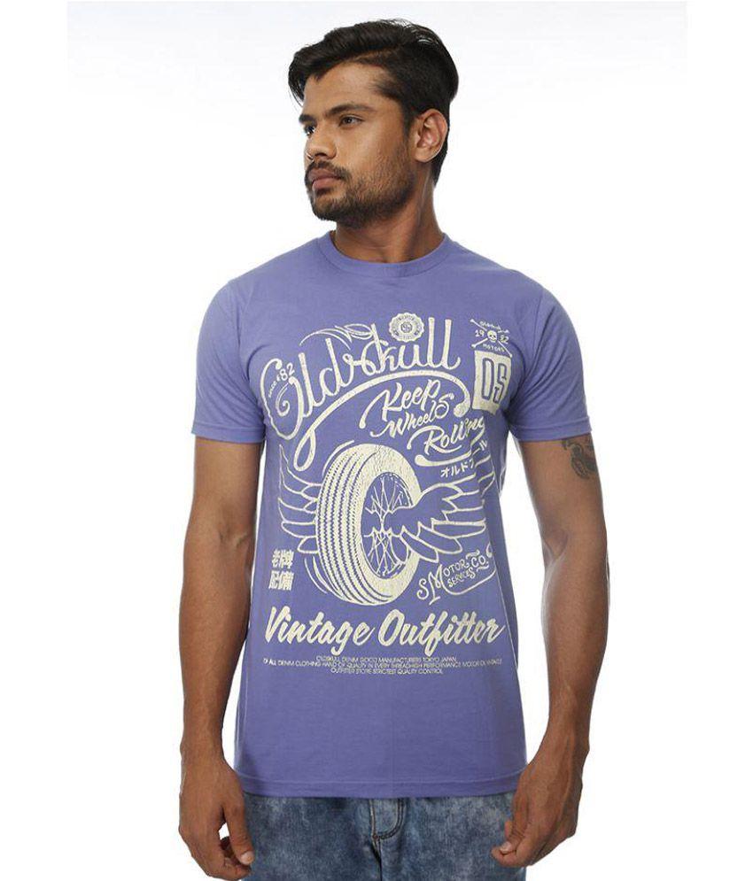 Kyoto Purple Round T Shirt