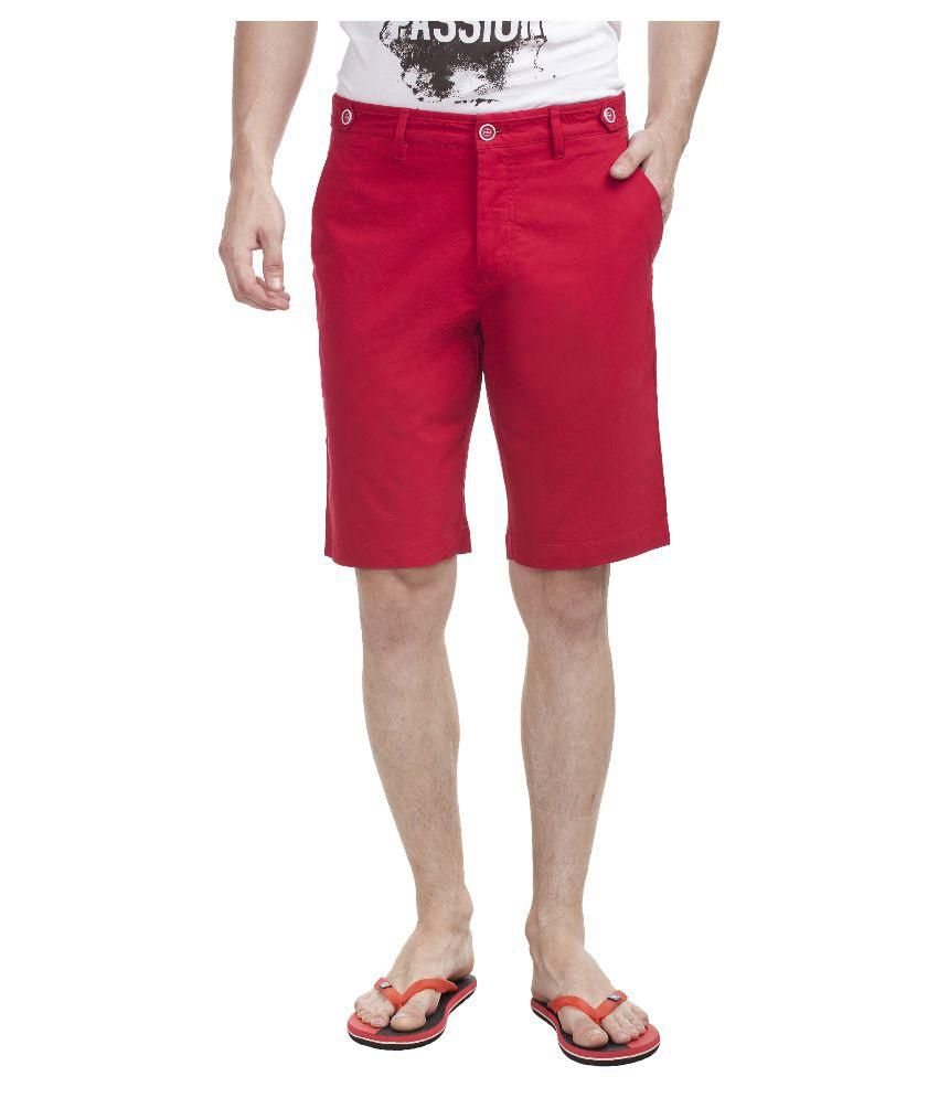 Shapes Red Shorts