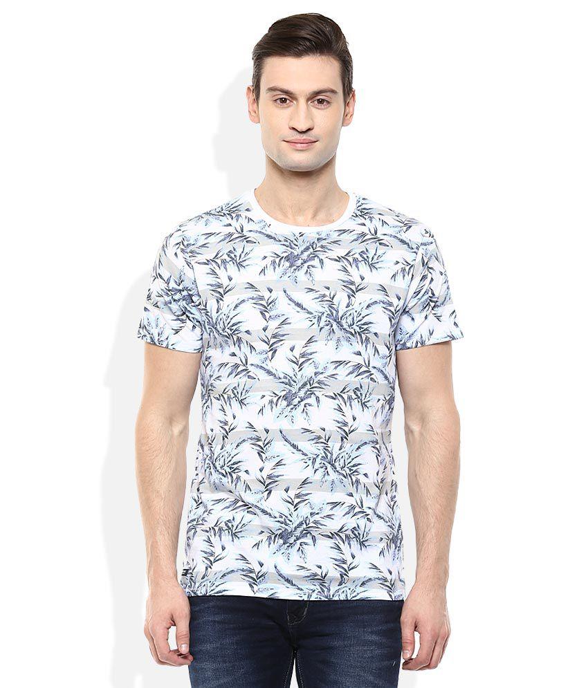 Threadbare Blue Prints T-Shirt