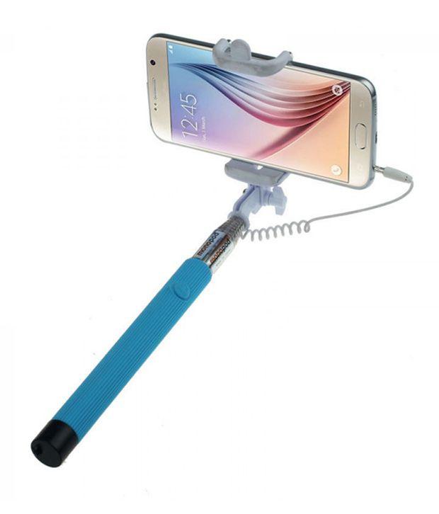 quantum hiper song selfie stick monopod extendible with 3 5 mm aux cable pric. Black Bedroom Furniture Sets. Home Design Ideas