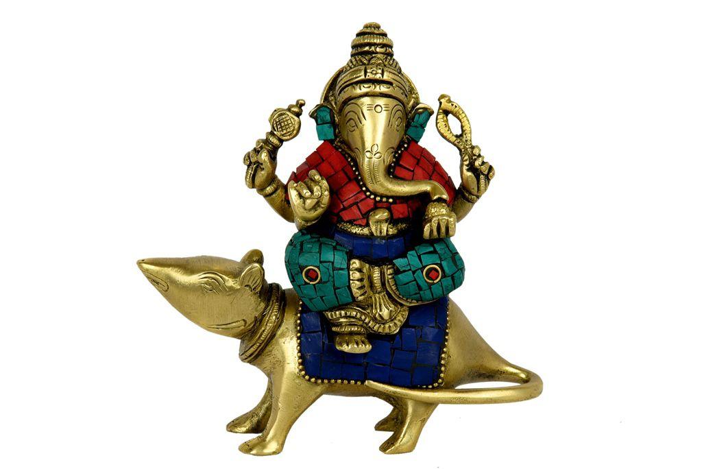 Unbranded Brass Ganesha Idol