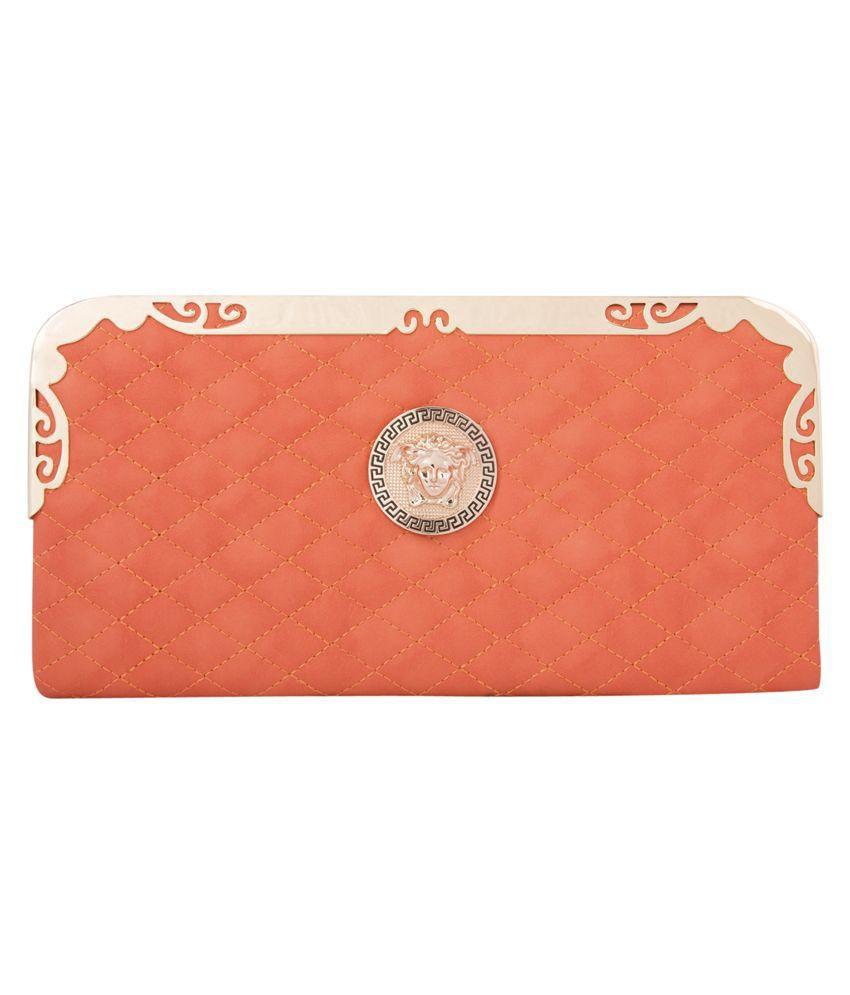 Polki Orange Wallet