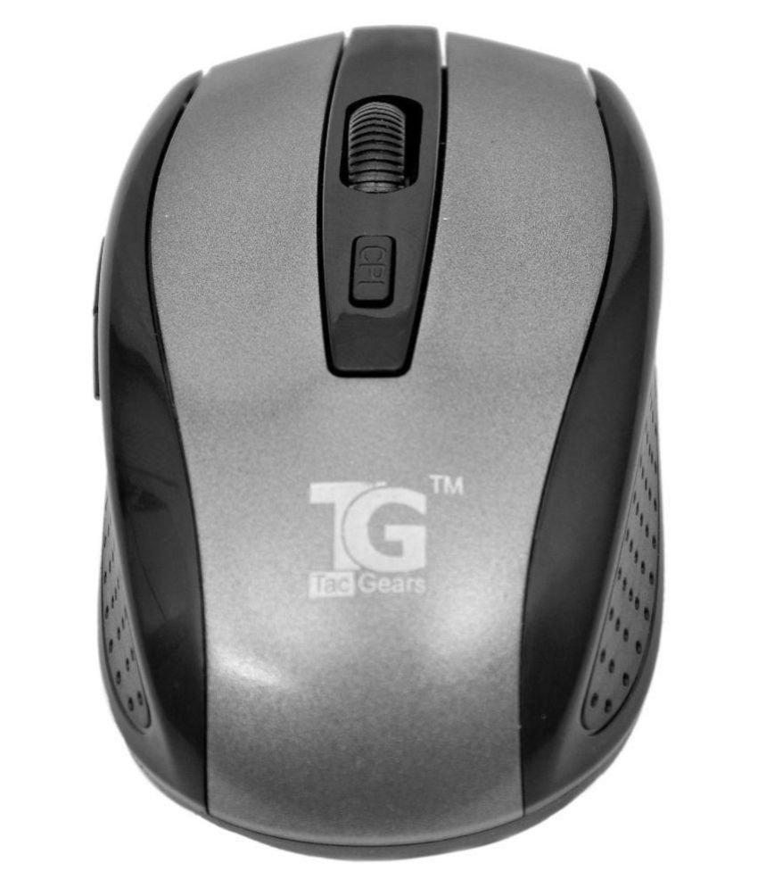 Tacgears 8005 Wireless Mouse - Silver