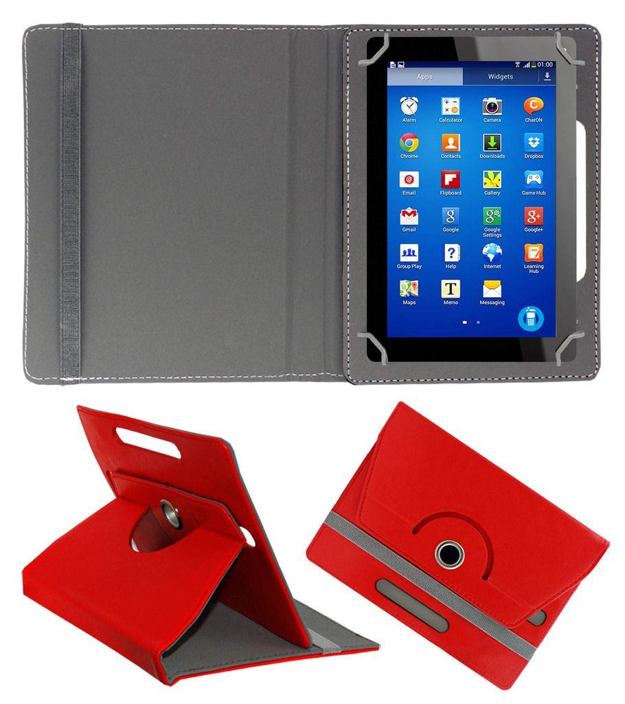ACM Flip Cover for Digitab Dt-Lm711 - Red