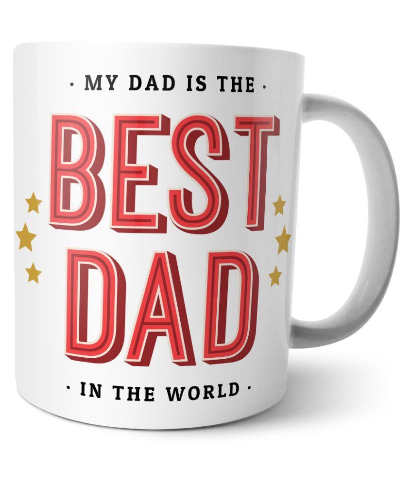 Chiraiyaa Happy Fathers Day Ceramic Mug