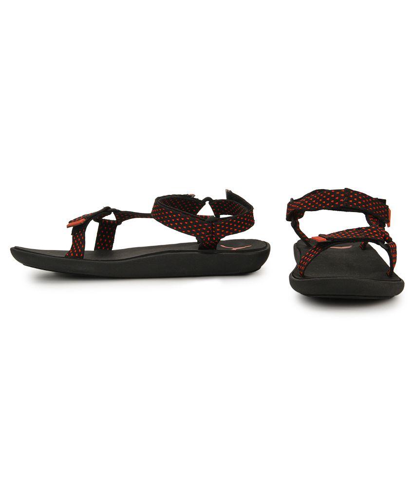 Puma Plato DP Black Floater Sandals Puma Plato DP Black Floater Sandals ... 86c9f99b7