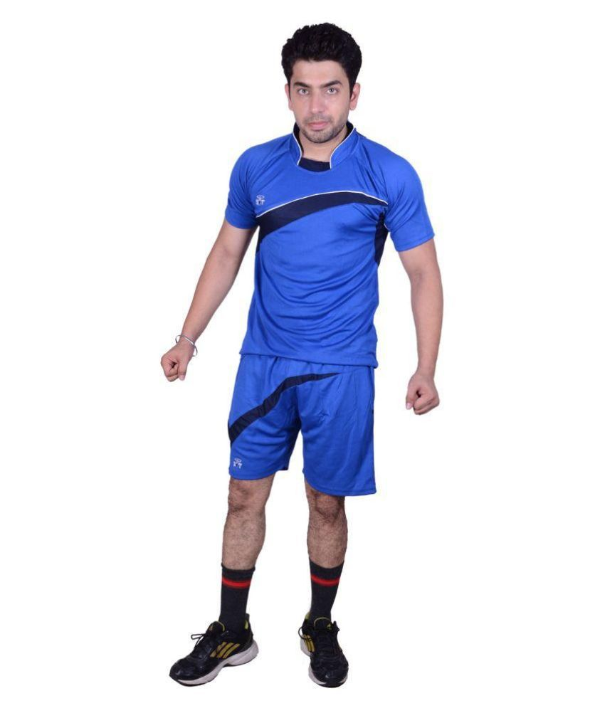 SST Blue Polyester Sports Wear