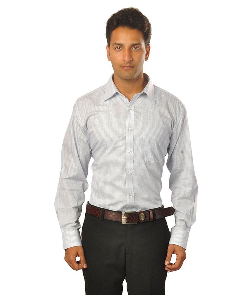 Louis Philippe White Formal Regular Fit Shirt - Buy Louis ... Louis Philippe Formal Shirts