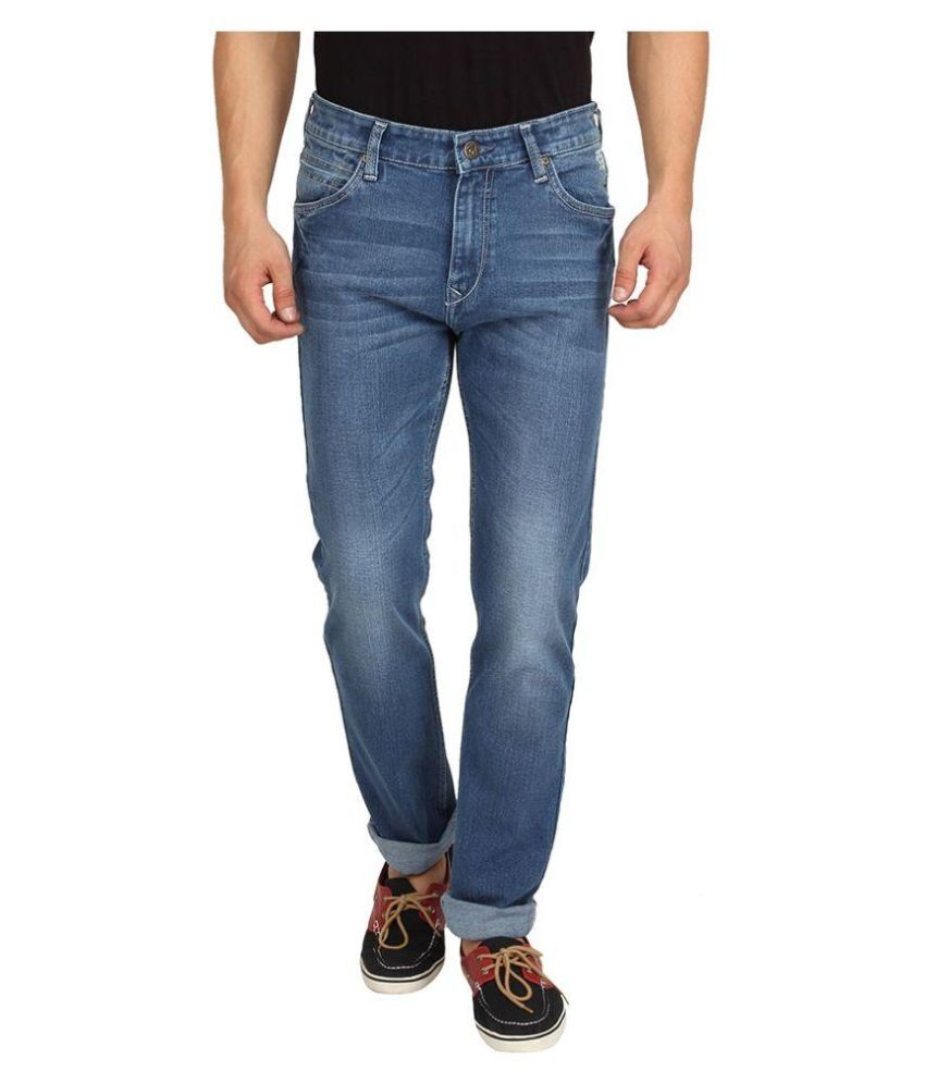 Pepe Jeans Blue Skinny Fit Faded Jeans