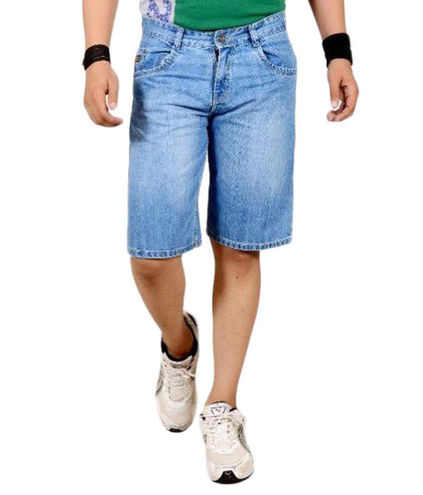 Refocus Blue Shorts