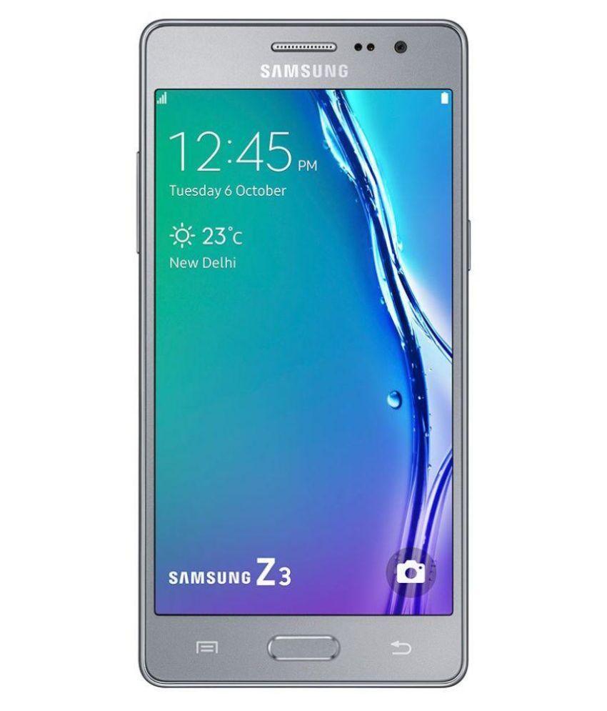 Samsung z3 ( 8GB , 1 GB ) Silver