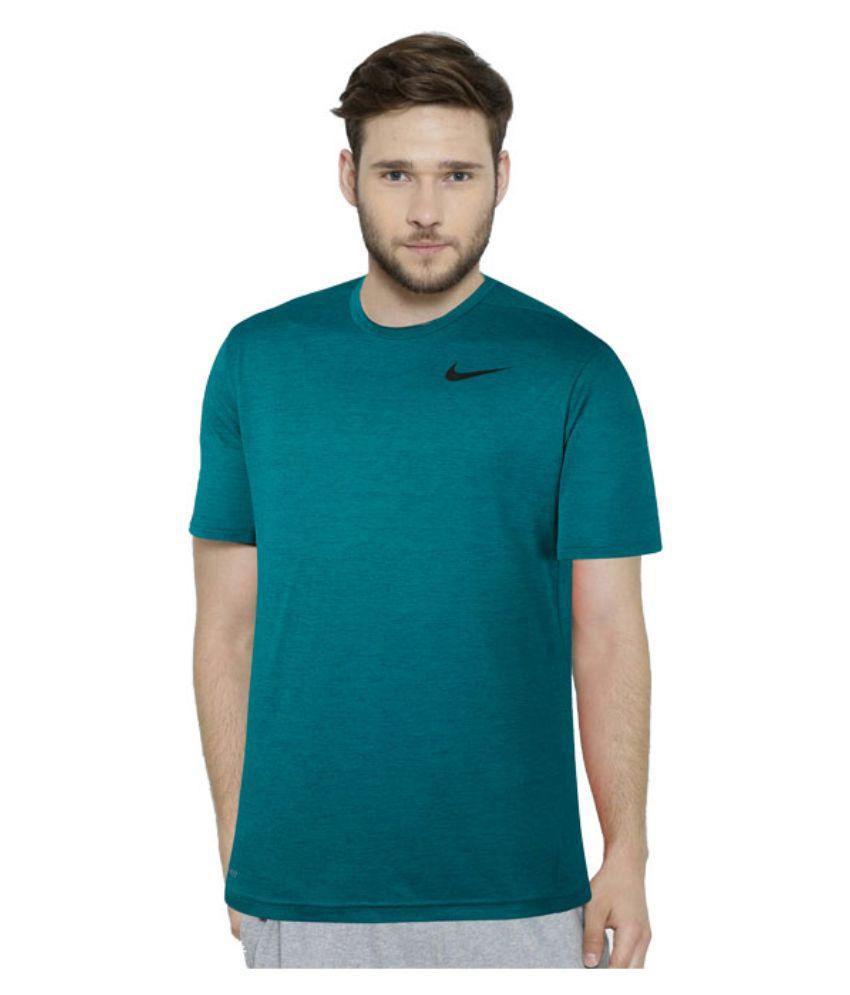 Nike Green Round T Shirt