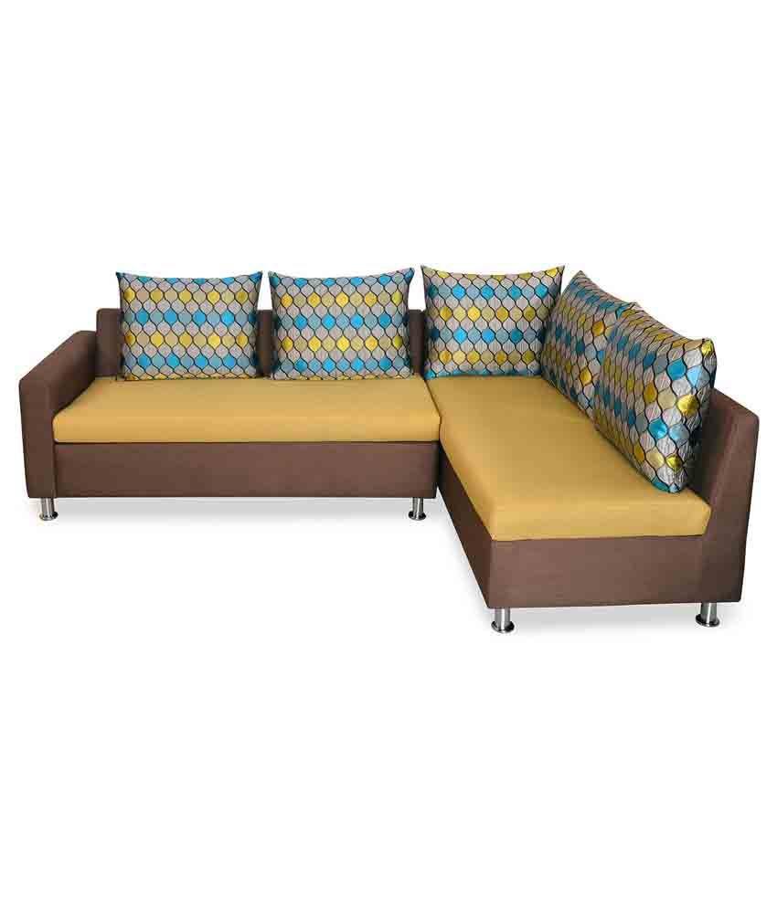 nilkamal georgetown fabric l shape sofa buy nilkamal rh snapdeal com