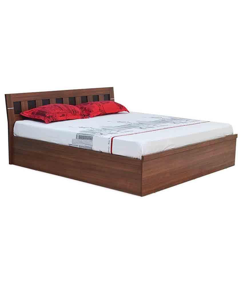 Nilkamal reegan queen size bed buy nilkamal reegan queen for Beds 3 4 size