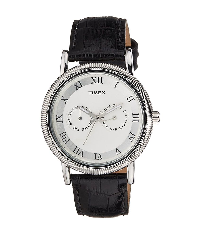 1bb1e53cef4 Timex Silver Dial Analog Men's Watch