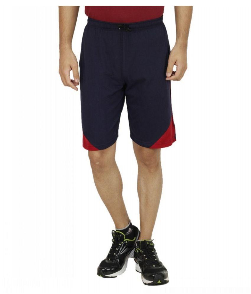 Sanvi Traders Navy Shorts