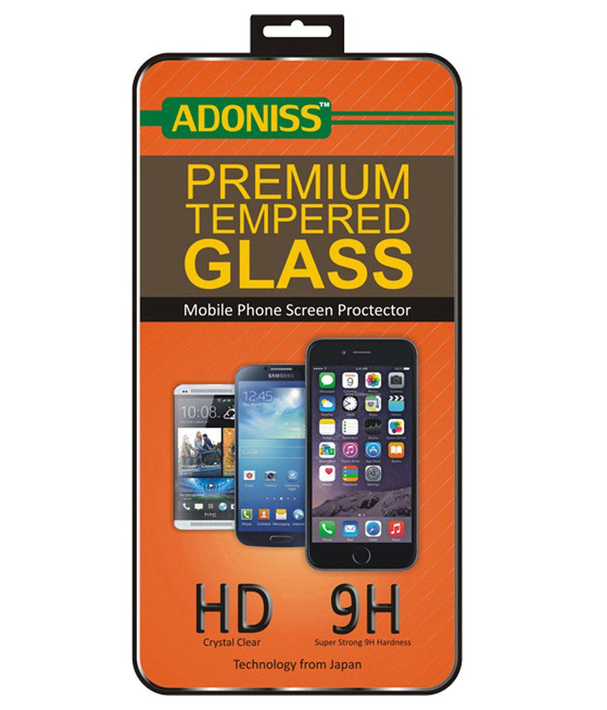 Adoniss Tempered Glass Screen Guard for Samsung Galaxy A7