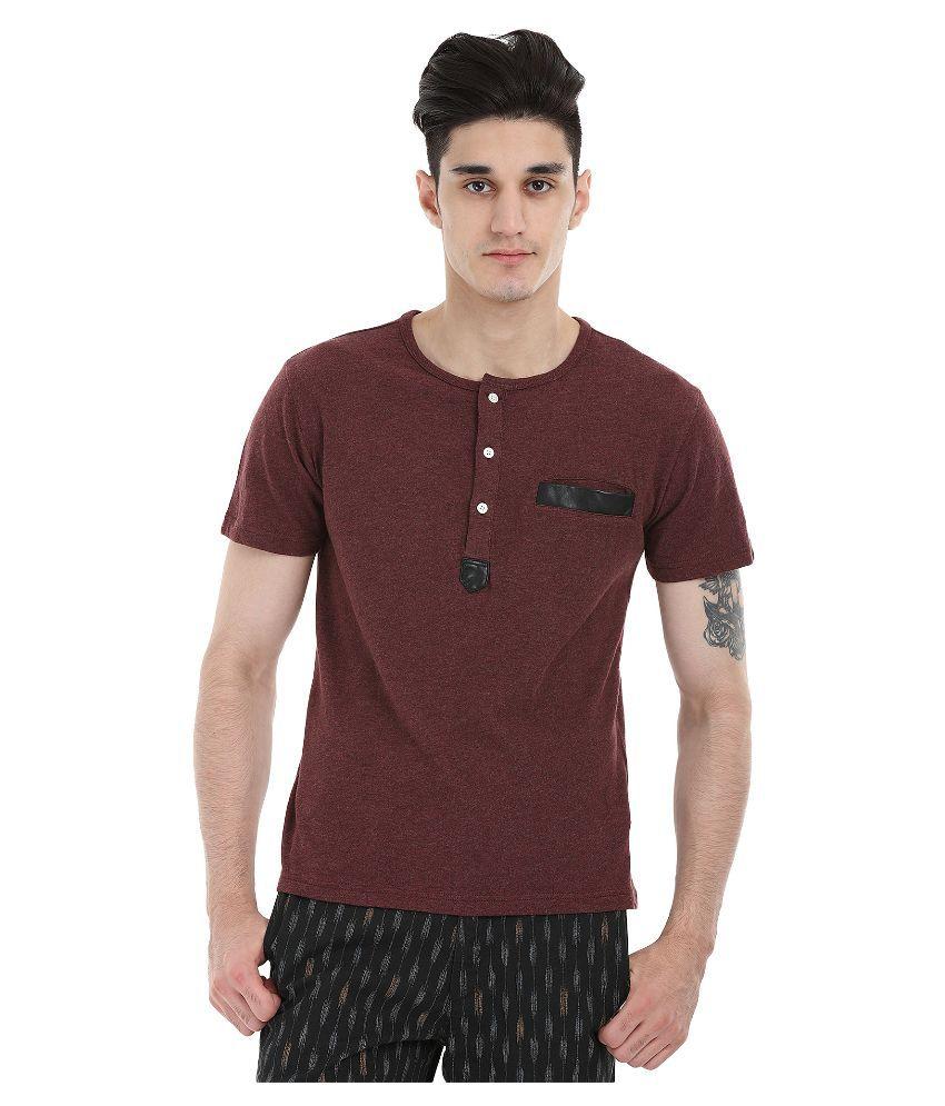 Zobello Brown Round T Shirt