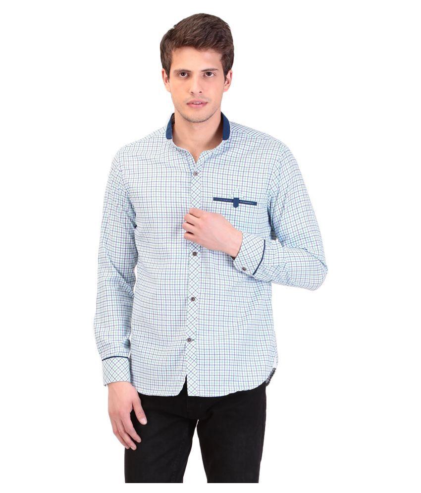 TAG 7 Multi Casuals Slim Fit Shirt