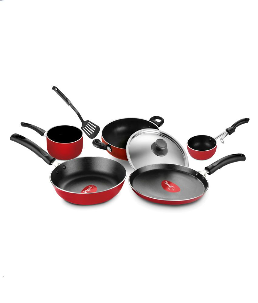 Pigeon Non-Stick Grand 7 pcs 5 layer Cookware Set