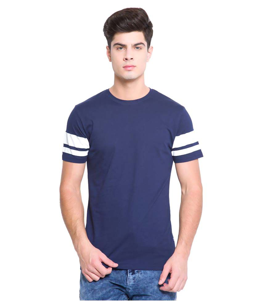 Highlander Navy Round T-Shirt