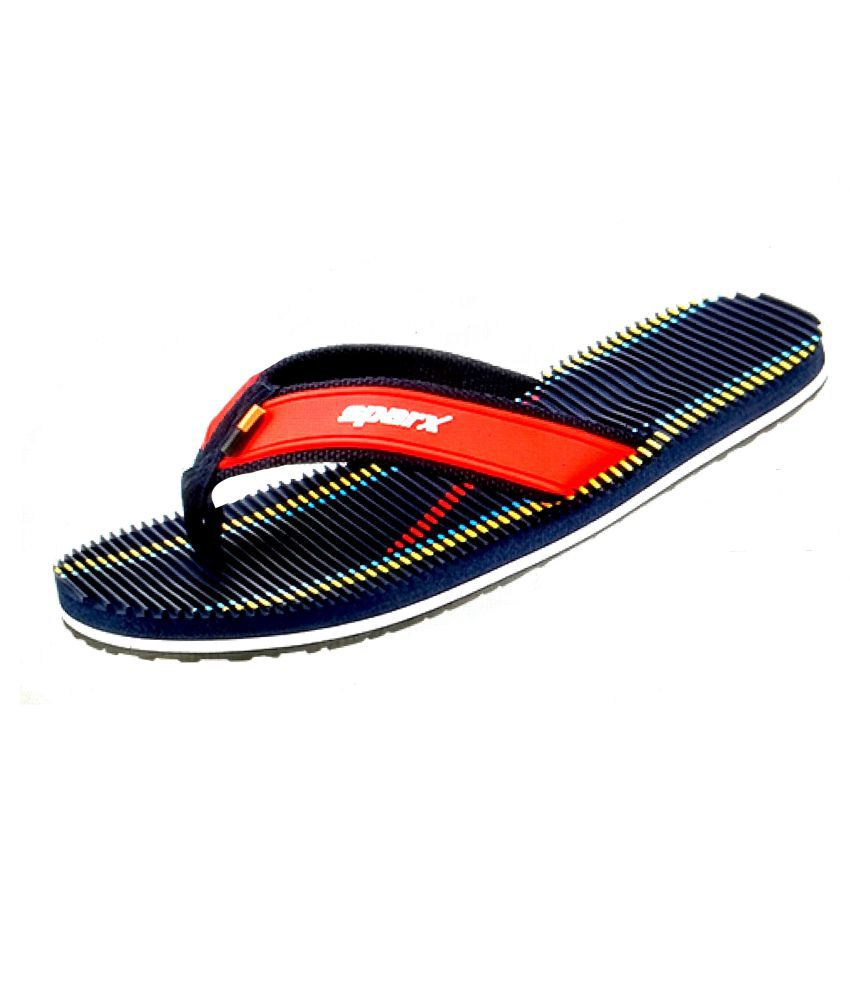 7b10cafd0026 Sparx Blue Thong Flip Flop Price in India- Buy Sparx Blue Thong Flip Flop  Online at Snapdeal