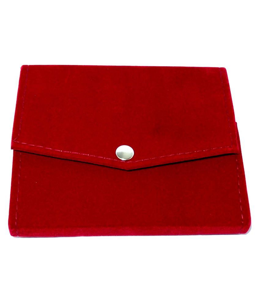 Girija Red Velvet Jewellery Box