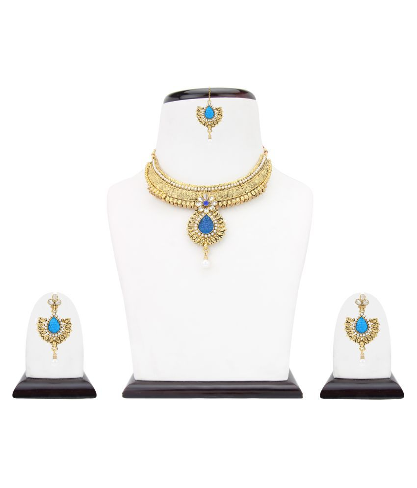Dancing Girl Traditional Indian Ethnic Fashion Jewelry Set Designer Necklace Set