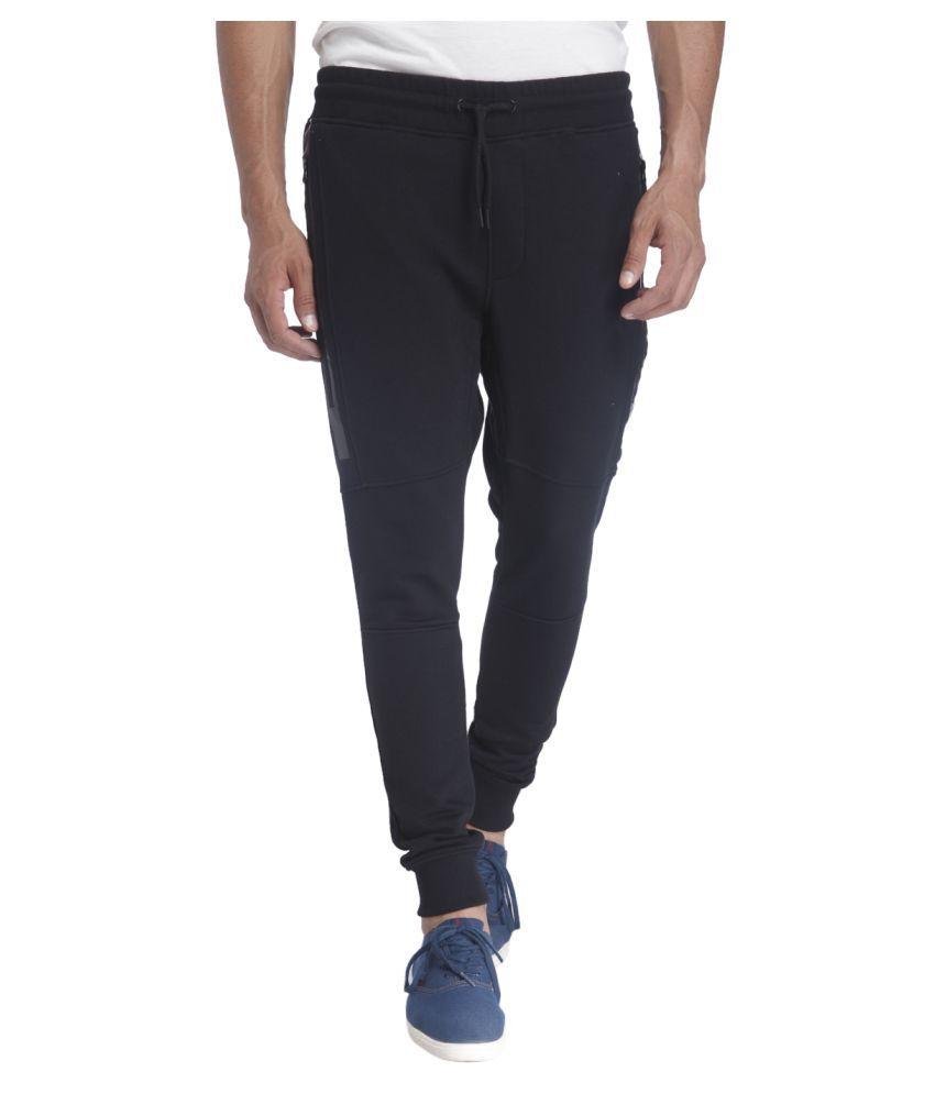 Jack & Jones Black Slim Flat Trouser