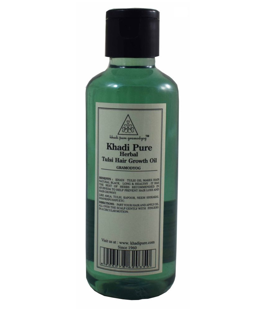 Khadi Pure Natural Hair Oil Tulsi 45 gm