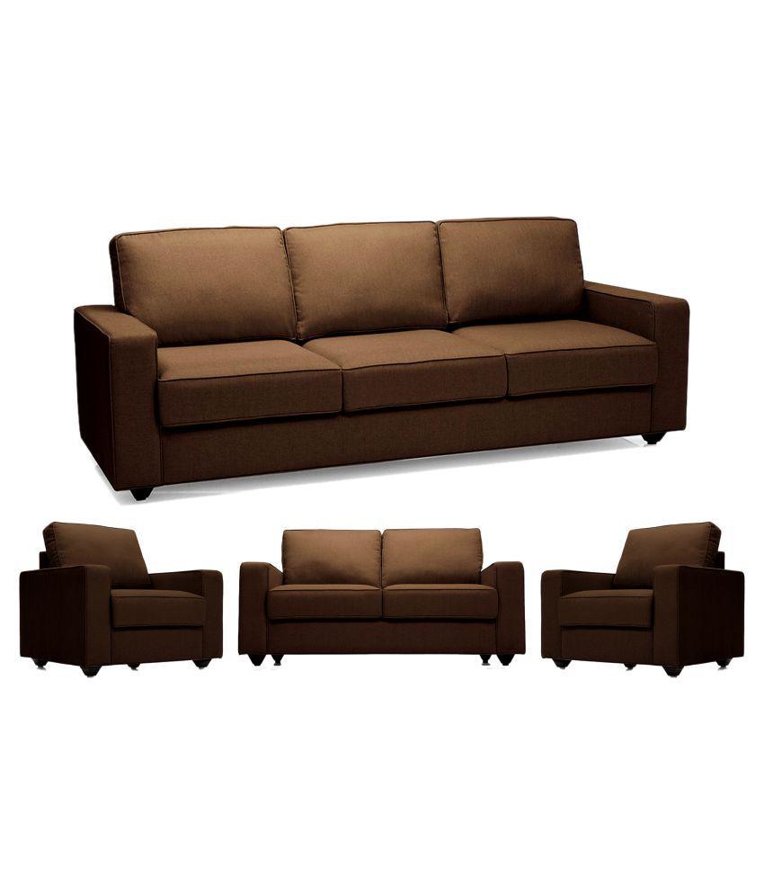 0a50530fd4 Scoty & Travis Alberto Fabric 3+2+1 Sofa Set - Buy Scoty & Travis ...