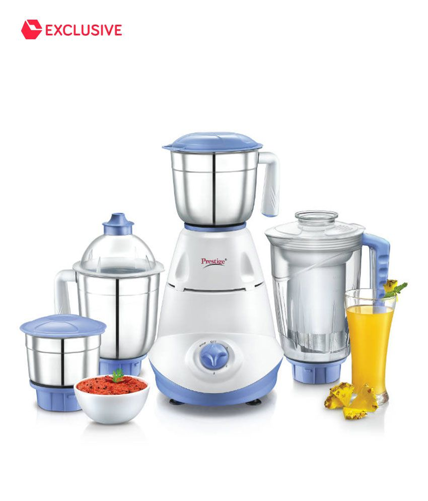 e0f02301caf Prestige Iris 750 W 4 Jar Mixer Grinder Price in India - Buy Prestige Iris  750 W 4 Jar Mixer Grinder Online on Snapdeal