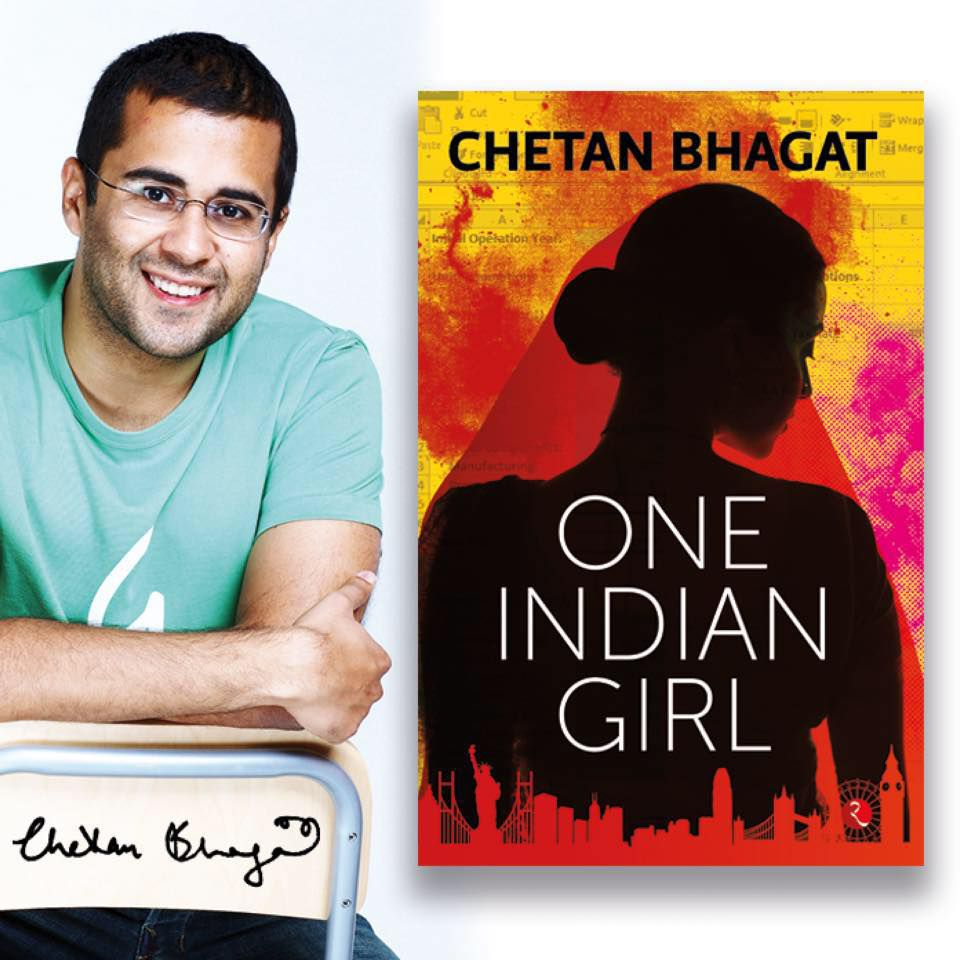 "BOOK REVIEW - ""ONE INDIAN GIRL BY CHETAN BHAGAT"""