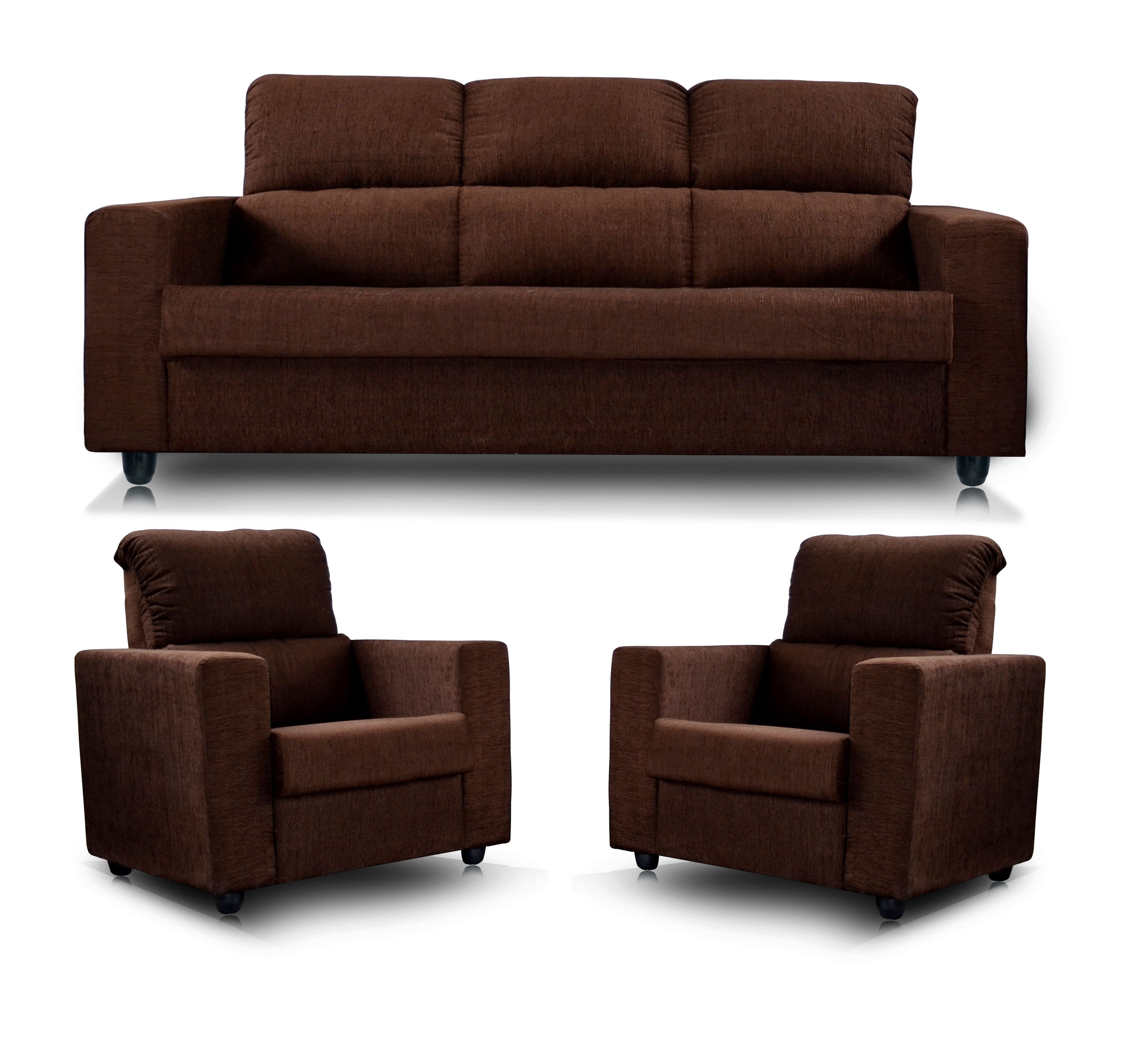 Westido Zas Fabric 3 1 1 Sofa Set Buy Westido Zas Fabric 3 1 1