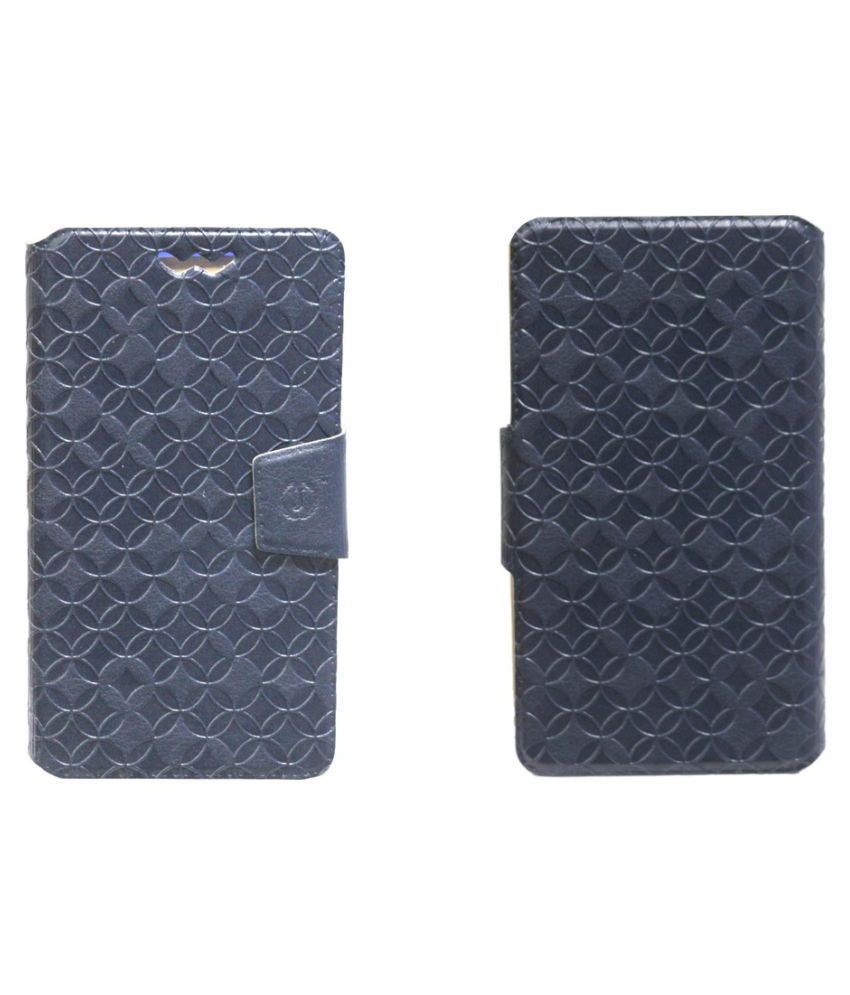 Karbonn A25 + Flip Cover by Jojo - Blue