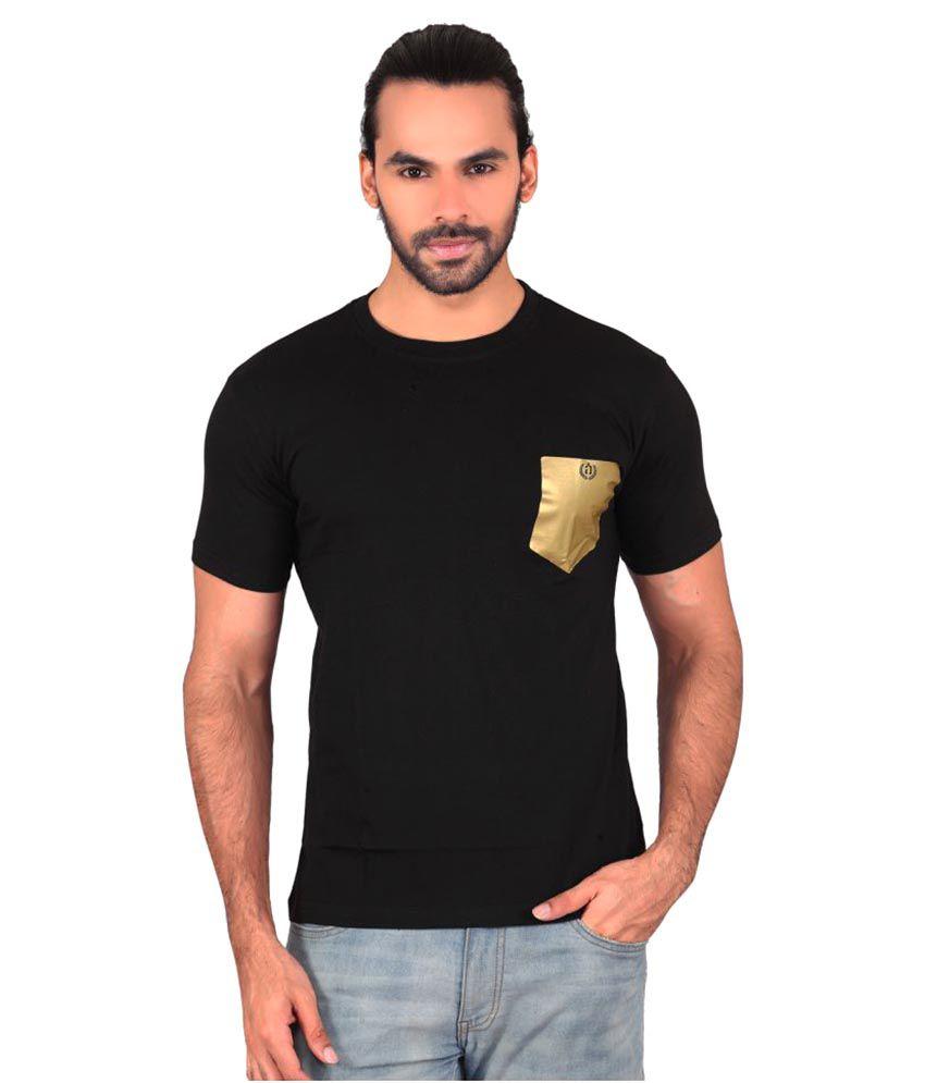 Shaildha Black Round T-Shirt