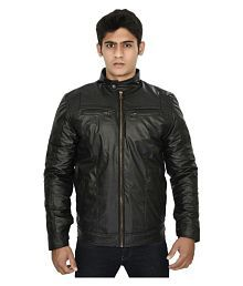 750aa371e05 Leather Mens Jackets :Buy Leather Mens Jackets Online at Low Prices ...