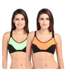Inner Secrets Multi Color Cotton Lycra T-Shirt Bra - 639085914266