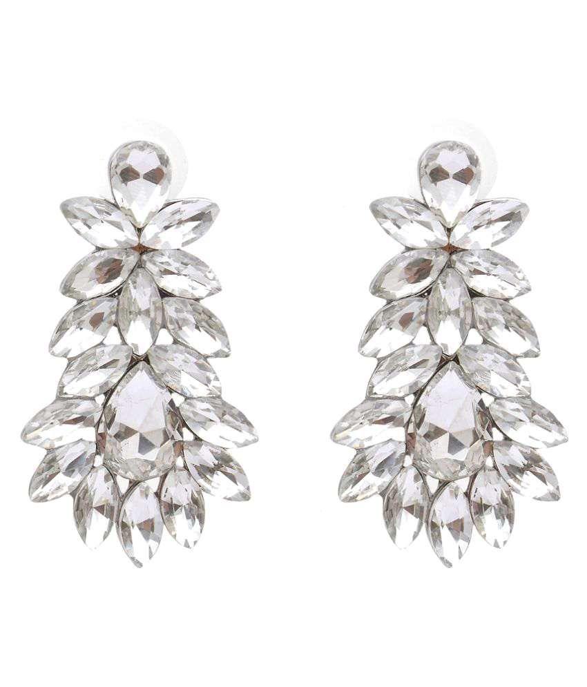 Globus Sparkling Drop Earrings