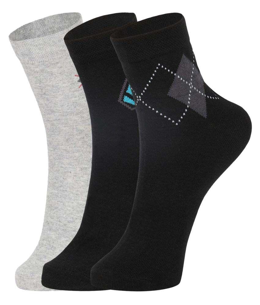 Dukk Multi Casual Mid Length Socks