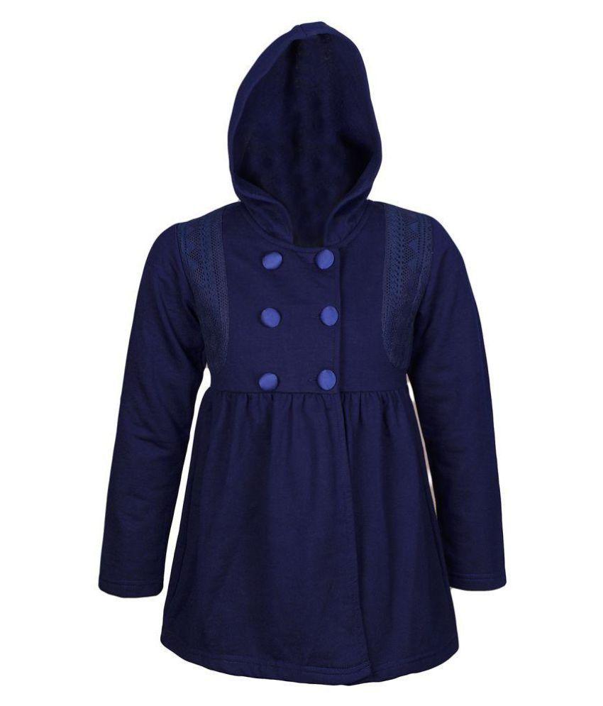 Naughty Ninos Navy Woven Coat