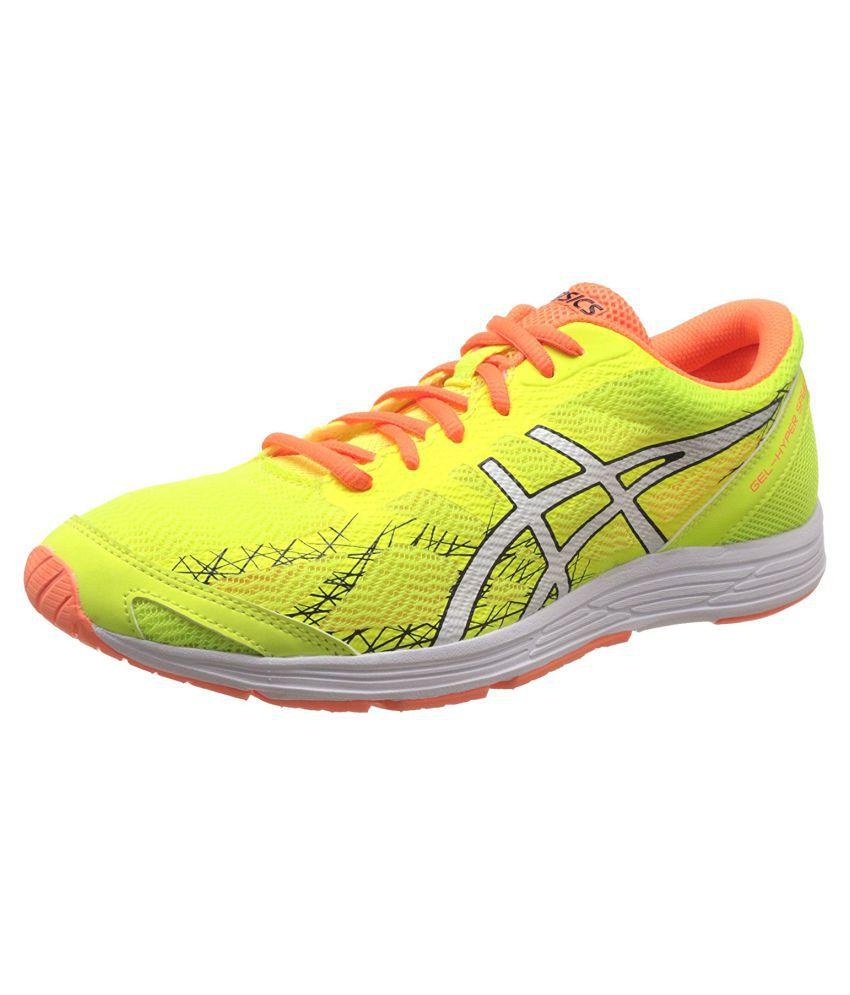 Asics Green Running Shoes