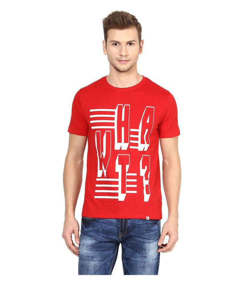 Sting Red Round T-Shirt