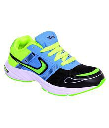 Xpert blue green boys sports shoesXpert Multicolor Boys Sports Shoes
