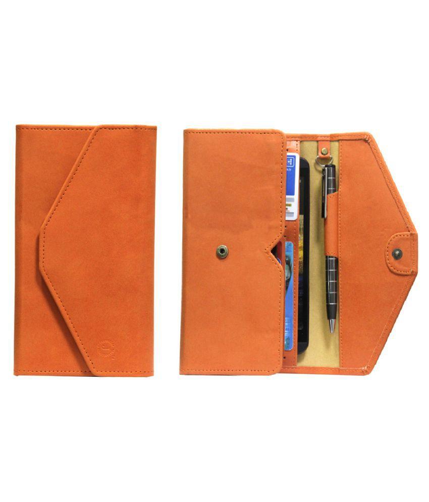Karbonn Titanium S9 Holster Cover by Jojo - Orange