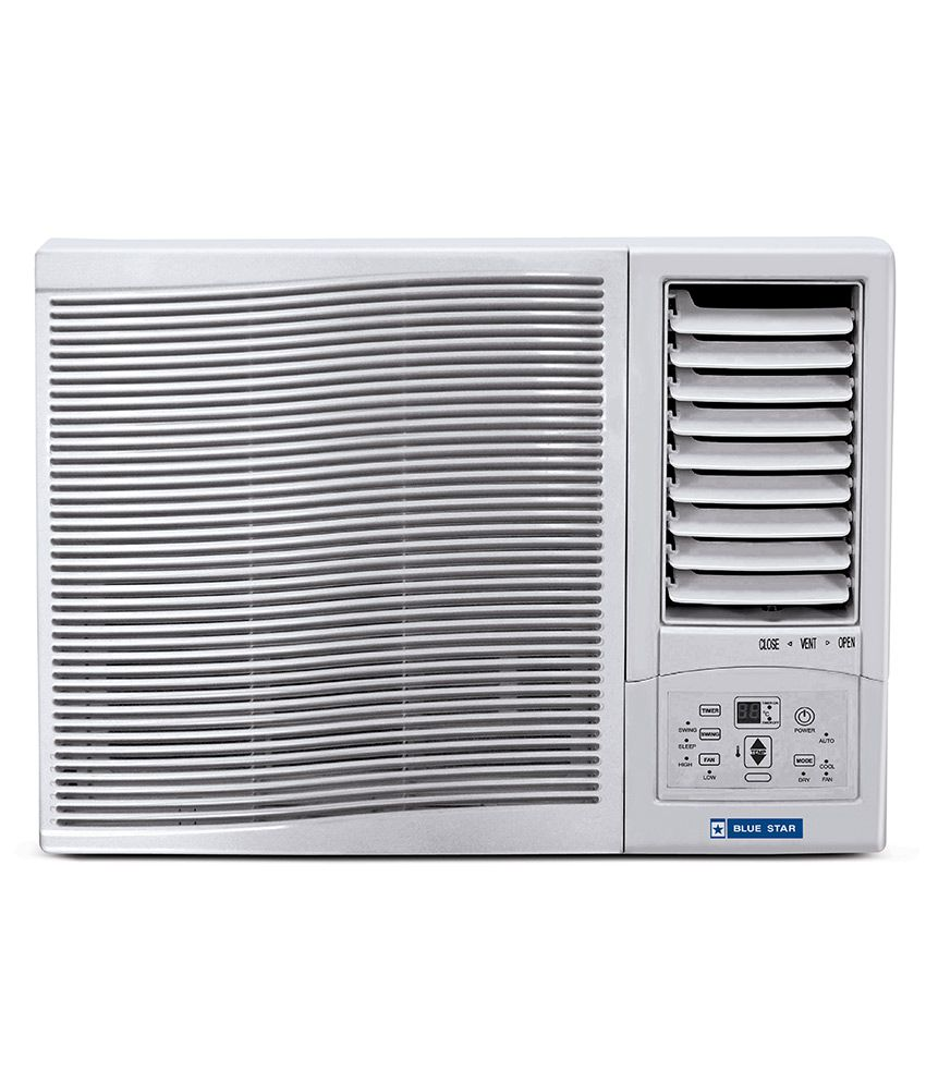 Blue star 1 ton 2 star 2wae121ydf 2wae121ycf window air for 1 ton window ac
